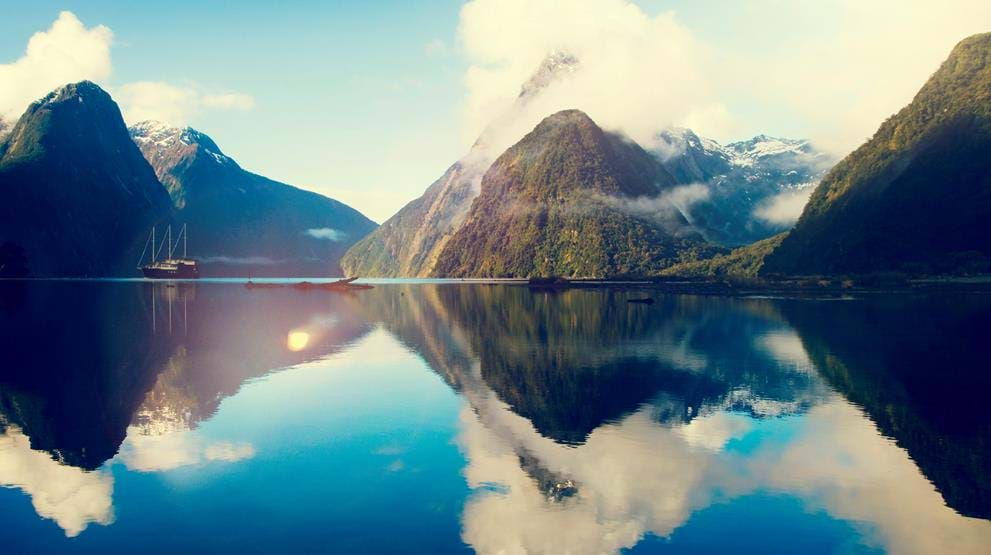 Milford Sound, New Zealand - Reiser til Oseania