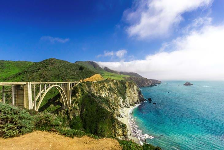 Bixby Bridge, Highway 1 - Reiser til California