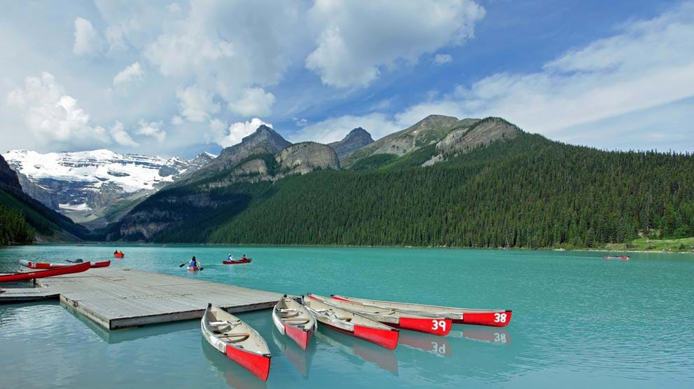 Lake Louise - Reiser til Rocky Mountains
