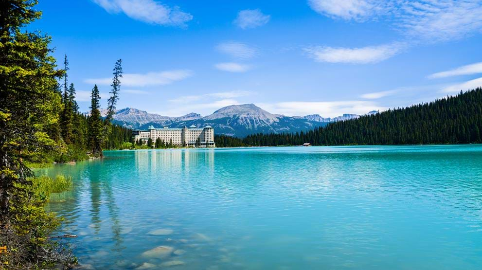 Lake Louise i Banff National Park - Reiser til Canada