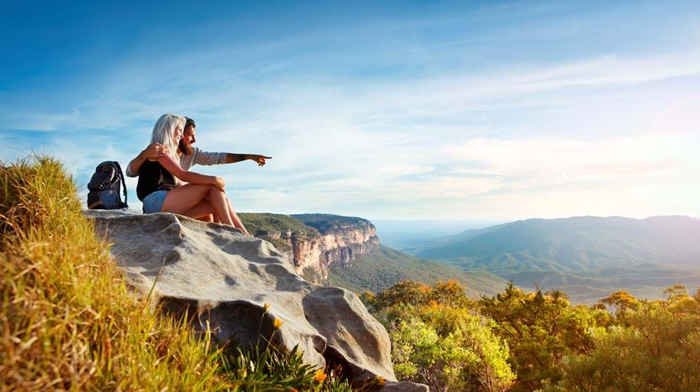 Opplev regnskogen Blue Mountains i New South Wales - Rundreise i Australia