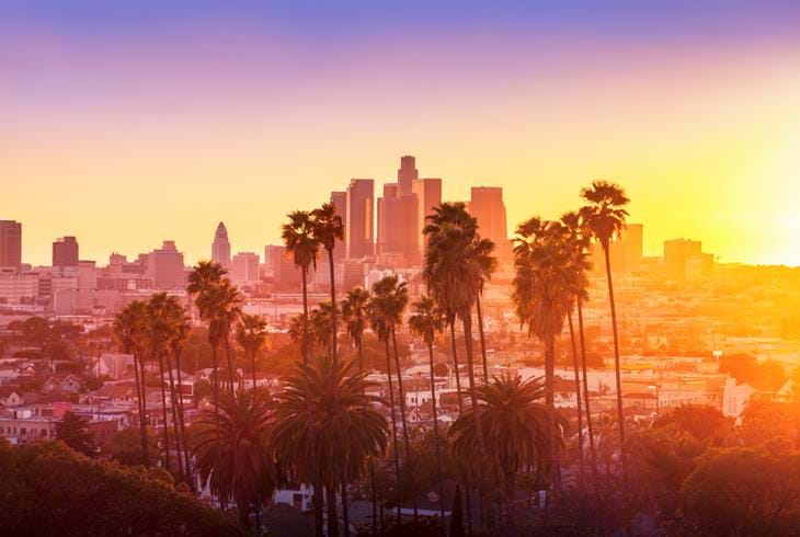 Los Angeles - Reiser til California