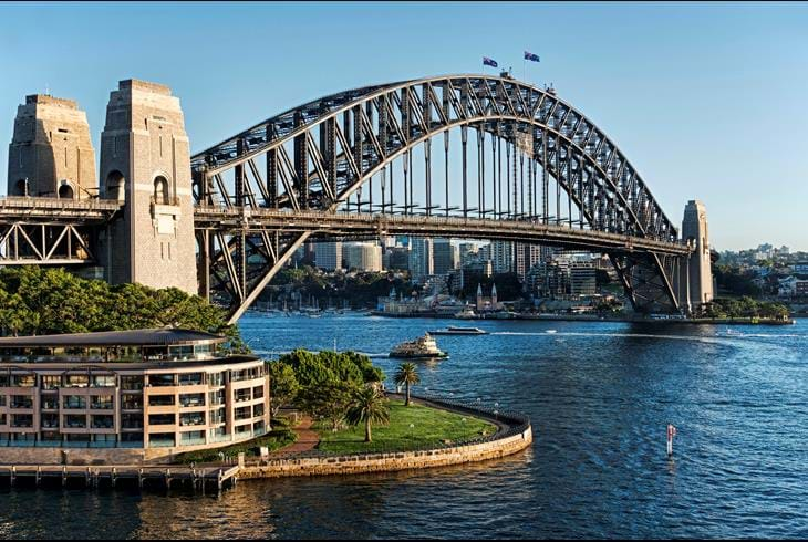 Harbour Bridge i Sydney