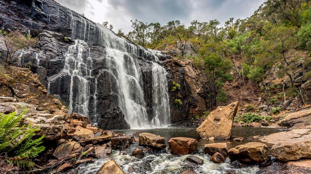 MacKenzie Falls i Grampians National Park - Reiser til Great Ocean Road