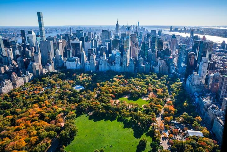 Central Park, New York - Reise til New York og Hawaii