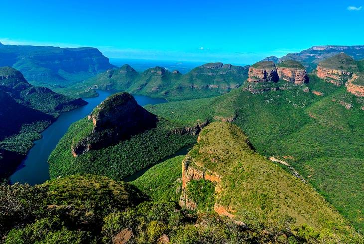 Blyde River Canyon langs Panorama Route