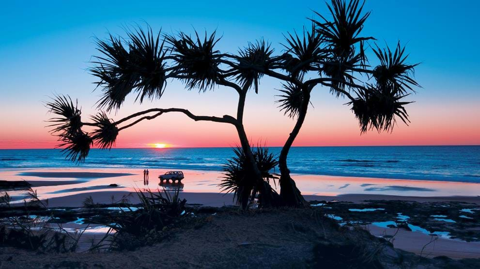 Fraser Island, Queensland. Foto: Tourism Events Queensland & Darren Jew - Reiser til Australia
