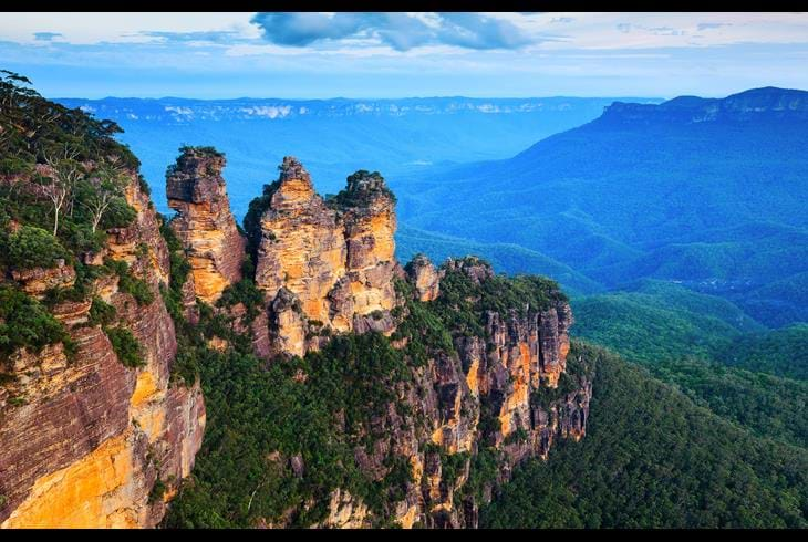 Blue Mountains utenfor Sydney, Australia