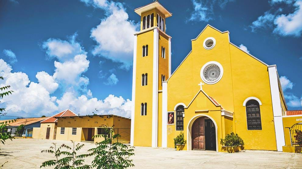 Rincon church - Reiser til Bonaire
