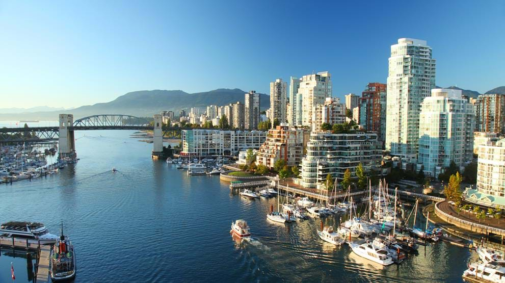 Flotte Vancouver - Cruise i Canada