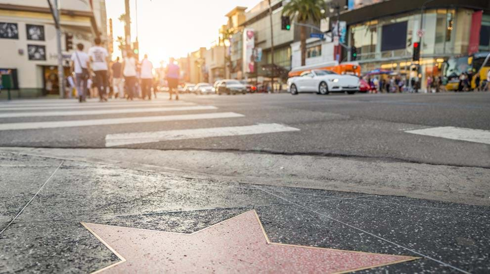 Hollywood Walk of Fame - Reiser til Los Angeles