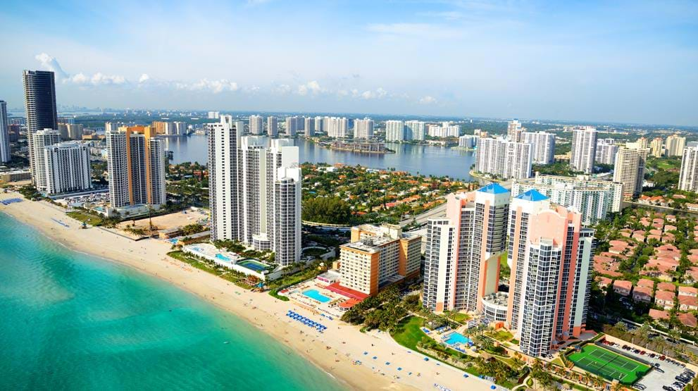 Miami Beach - Reiser til Florida