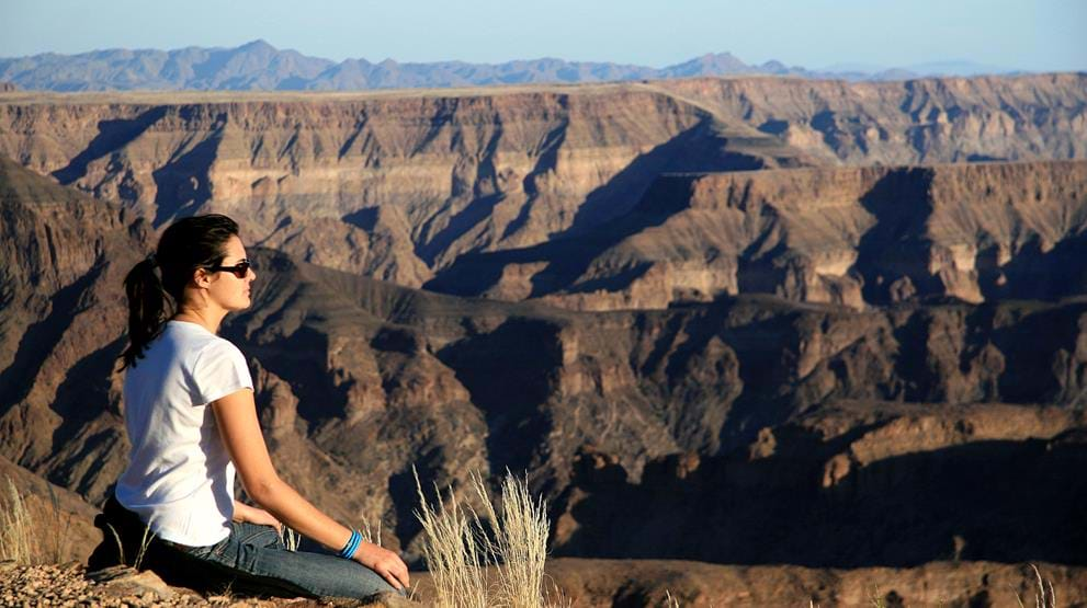 Fish River Canyon - Reise til Namibia