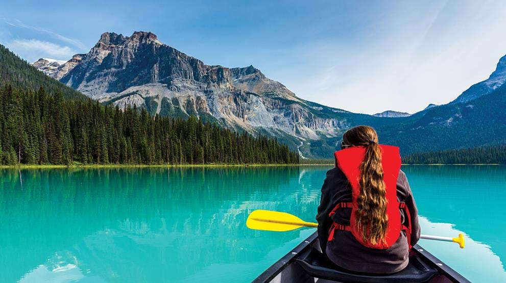 Moraine Lake - Reiser til Rocky Mountains