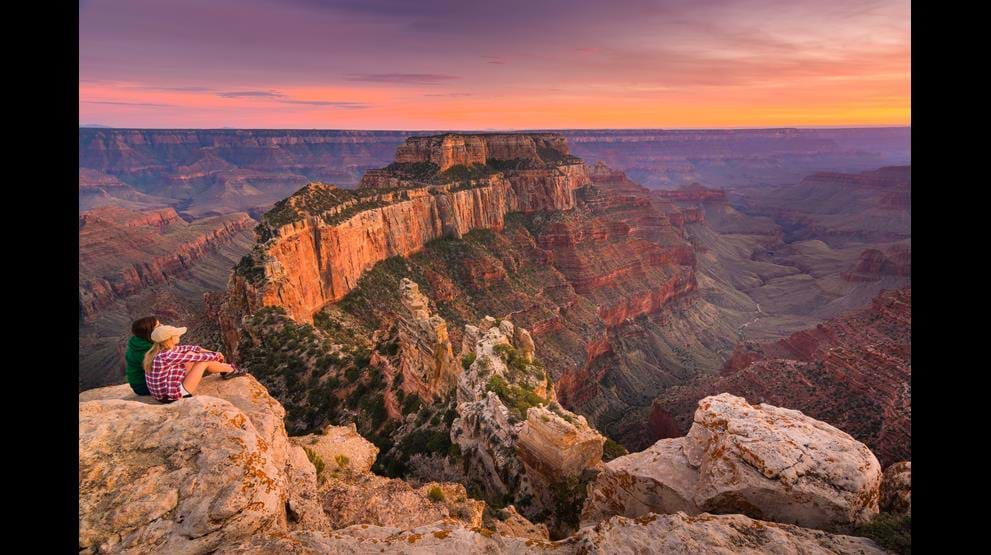 Grand Canyon, Arizona - Bobil i USA