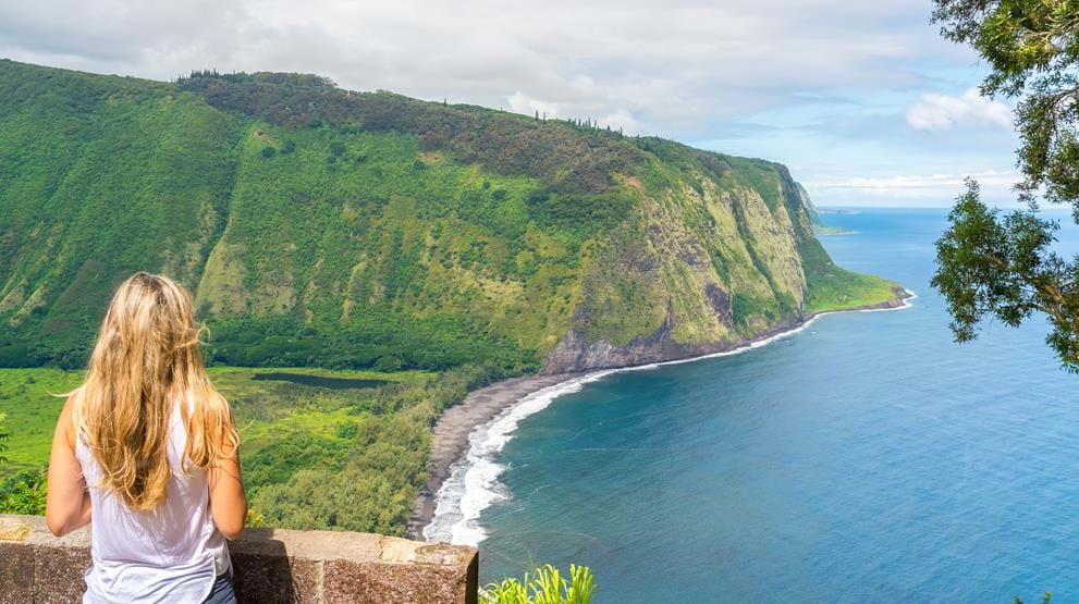 Waipio Valley, Big Island - Reiser til Hawaii