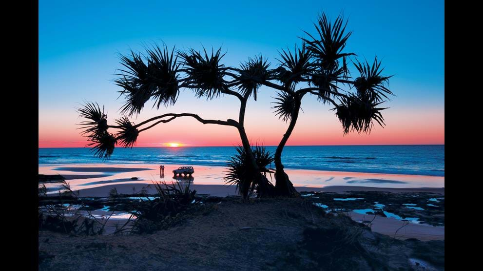 75 Mile Beach. Foto: Tourism and events Queensland
