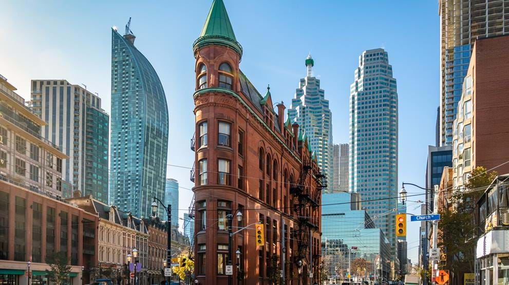 Gooderham Building i Downtown - Reiser til Toronto