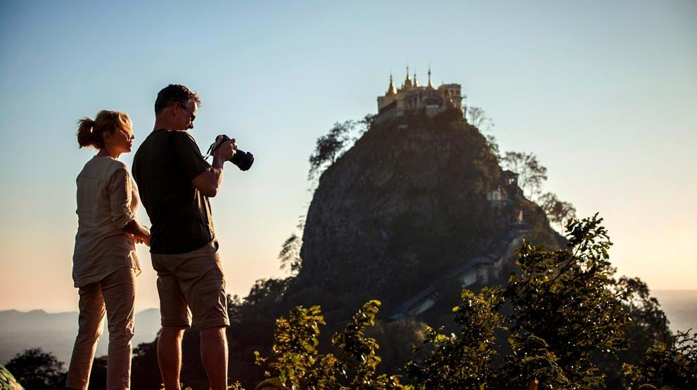 Mount Popa i Myanmar. Foto: National Geographic