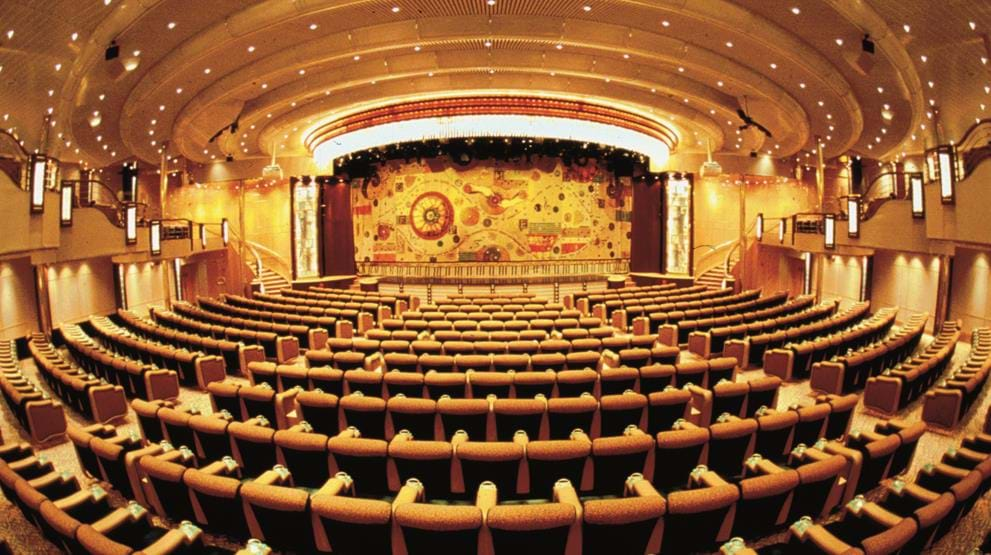 Teater om bord på Enchantment of the Seas
