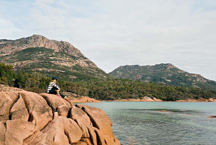 Freycinet National Park. Foto: Lisa Kuilenburg & Tourism Tasmania