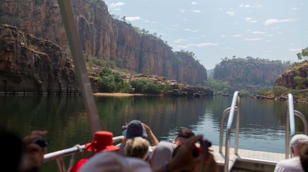 Elvecruise i Katherine Gorge. Foto: Great Southern Railroad